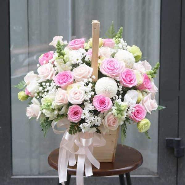 Giỏ hoa đẹp giá rẻ